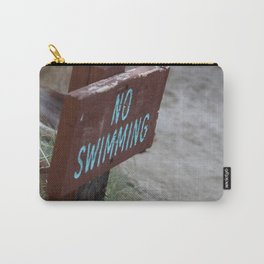 No Swimming Coachella Valley Wildlife Preserve Carry-All Pouch