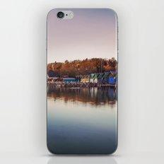 Dawn at the lake iPhone & iPod Skin
