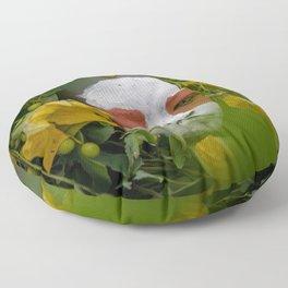 Suri Green Floor Pillow