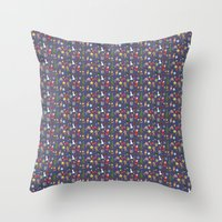 xmas Throw Pillows featuring xmas by Rexlalala