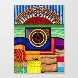 Weeping Buddha 5 Canvas Print