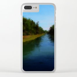 Carrying Place, Hancock Maine Clear iPhone Case