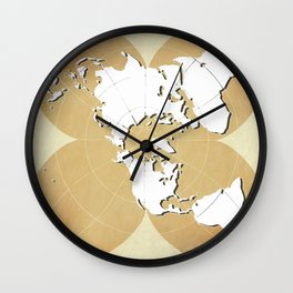 planisphere golden mood Wall Clock