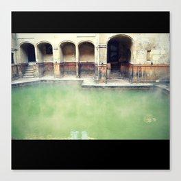 The Roman Baths Canvas Print