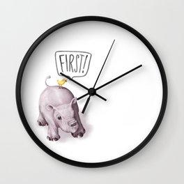 FIRST! Wall Clock