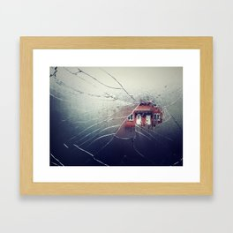 Implode Framed Art Print