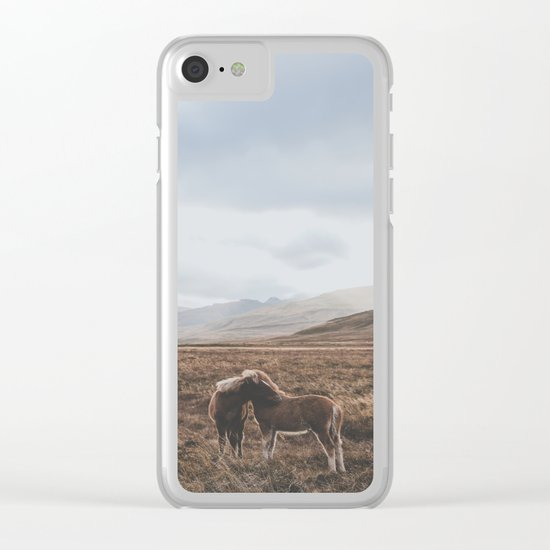 Iceland I Clear iPhone Case