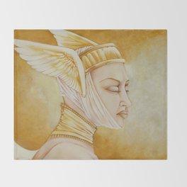 The Seraphim Throw Blanket