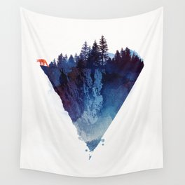 Near to the edge Wall Tapestry