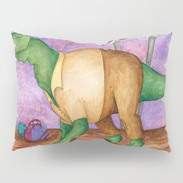 Larry the Bowling Dinosaur Pillow Sham