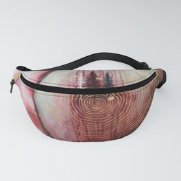 Infinity Original Artwork by Rachael Rice Fanny Pack