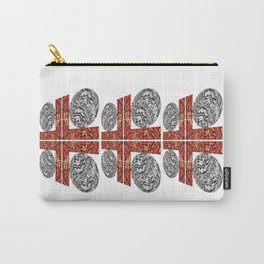 Grid Lock Carry-All Pouch