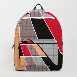 #Geometric #patchwork #14 Backpack
