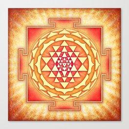 Sri Yantra XVI Canvas Print