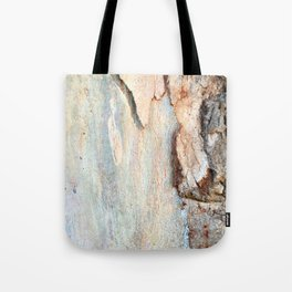 Eucalyptus tree bark and wood Tote Bag