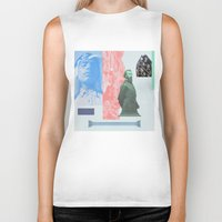 allyson johnson Biker Tanks featuring Magic Johnson by Young Weirdos Guild