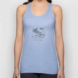 Frank Lloyd Wright Unisex Tank Top