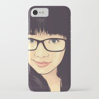 geek iPhone & iPod Cases featuring Geek by FalcaoLucas