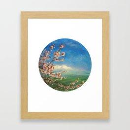 Almond Framed Art Print