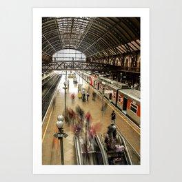 Estação da Luz Art Print