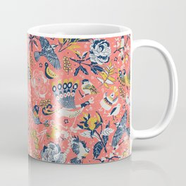 Birds in the snow Coffee Mug