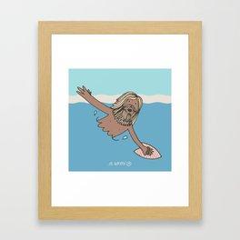 Torpedo People Framed Art Print