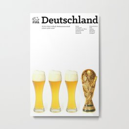 World Cup: Germany 2006 Metal Print