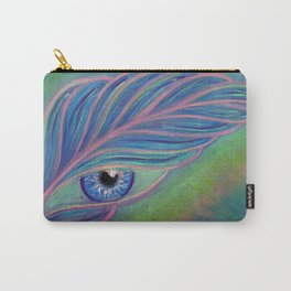 Feather, a Message from the Angels Carry-All Pouch