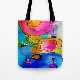 Magical Thinking No. 2B by Kathy Morton Stanion Tote Bag