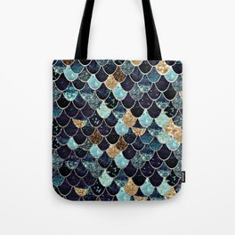 REALLY MERMAID - MYSTIC BLUE Tote Bag