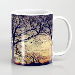 tree silhouette Coffee Mug