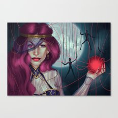 Master of puppets Canvas Print