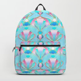 Bright Pastel Art Deco Backpack