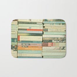 Bookworm Bath Mat