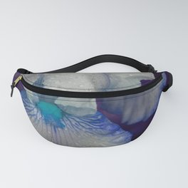 Iris No.1a by Kathy Morton Stanion Fanny Pack