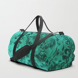 Malachite Dream #1 #gem #decor #art #society6 Duffle Bag