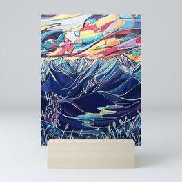 Silvercup Ridge, BC Mini Art Print