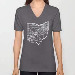 Ohio Love Where You're From Unisex V-Neck