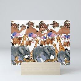 The Zoo Mini Art Print