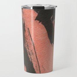 Red Ripple Travel Mug