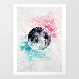 ˹pastelmoon˼ Art Print
