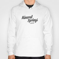 mineral Hoodies featuring Mineral Springs by Parks of Seattle