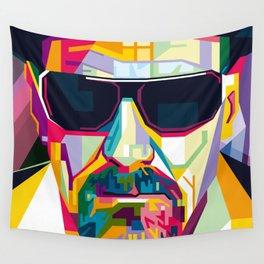 Pop Art London Vector Artist CONQR Ultimate Gangster Wall Tapestry
