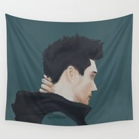 bastille Wall Tapestries featuring bad blood by darknightdrive