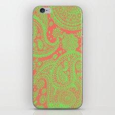 Sherbet Paisley iPhone Skin