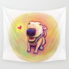 bull terrier Wall Tapestry