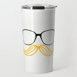 Spectacular Mustache Travel Mug
