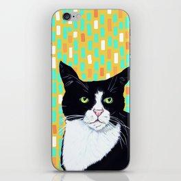 Portrait of Jasper the Cat iPhone Skin
