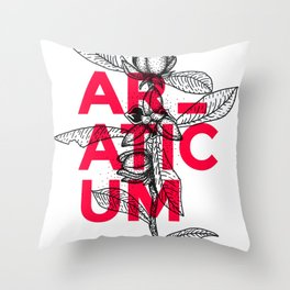 Araticum Throw Pillow