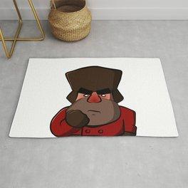 Angry Russian Rug